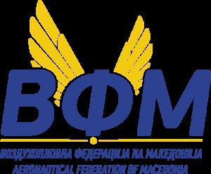 Vozduhoplovna Federacija na Makedonija Logo